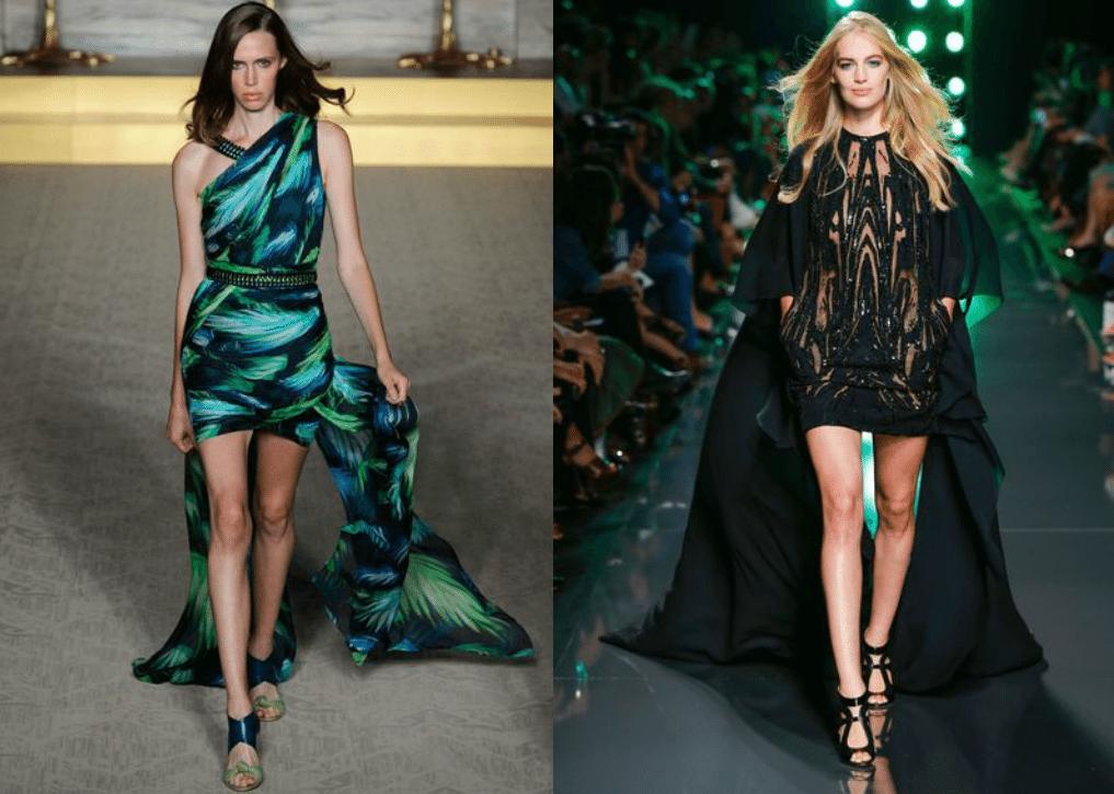 Платье со шлейфом - тренд 2016