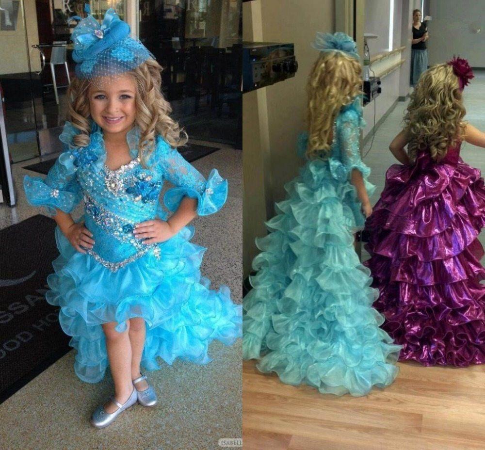 Платья со шлейфом для маленьких принцесс