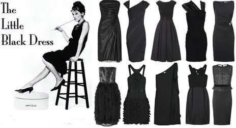 Черное платье всегда в моде