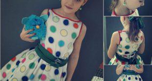 миниатюра детское платье стиляги