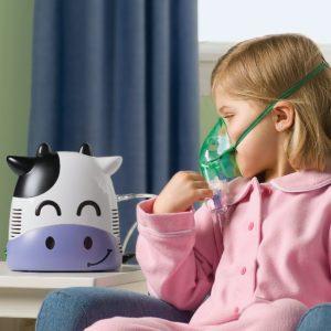 Ингаляции с имбирем помогают детям справится с кашлем