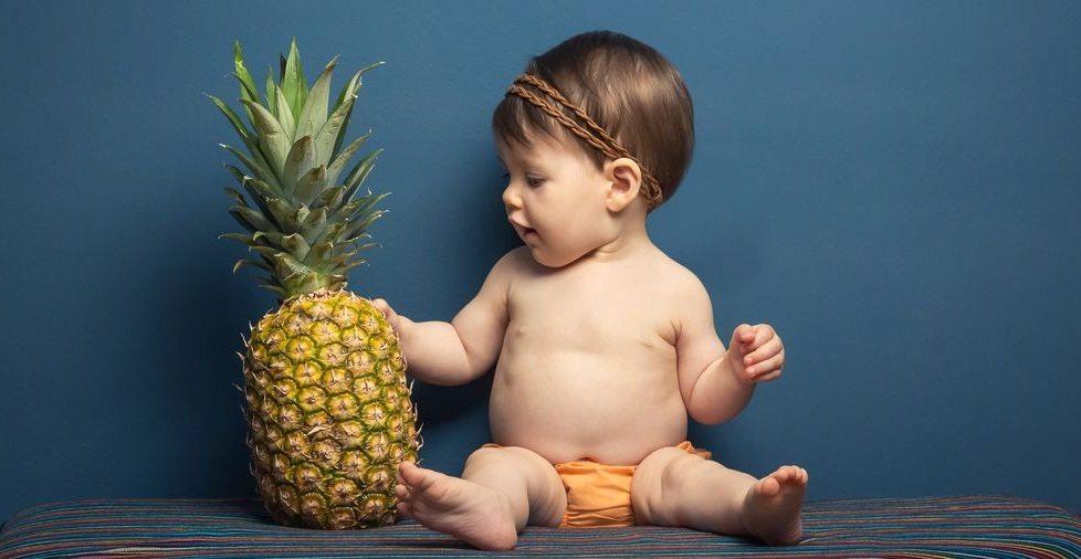Лучшим возрастом для введения ананаса в детское меню считают 3-5 лет