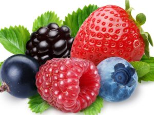 Ягоды и фрукты - это натуральные сладкие продукты