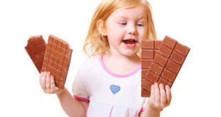 миниатюра шоколад детям