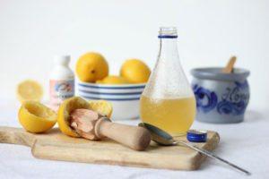 Подсолнечное масло с лимон - проверенное средство от кашля