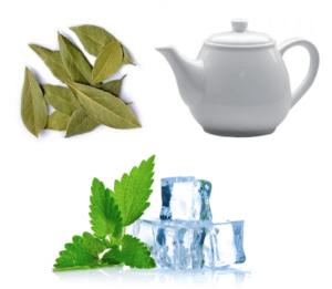 Чай от кашля с лавровым листом и ментолом