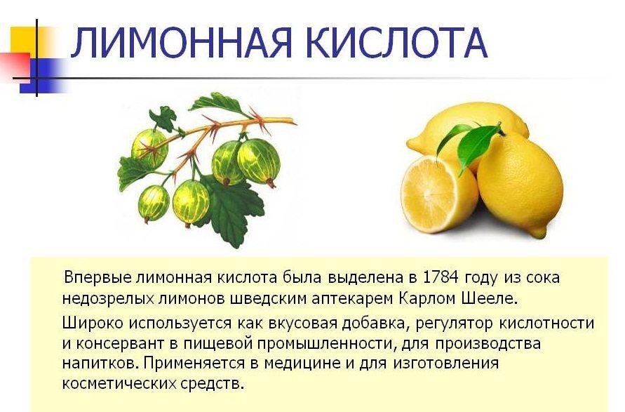 История лимонной кислоты