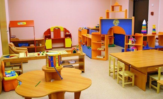 Пример интерьера детского садика в России