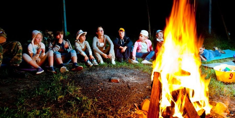 Детский лагерь - это лучшее место для проведения каникул