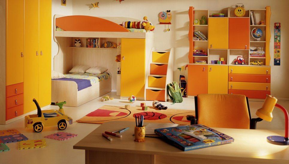 Пример интерьера детской комнаты