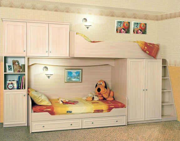 Корпусная детская мебель