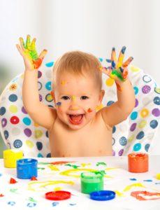 Начинайте рисовать с ребенком в раннем возрасте