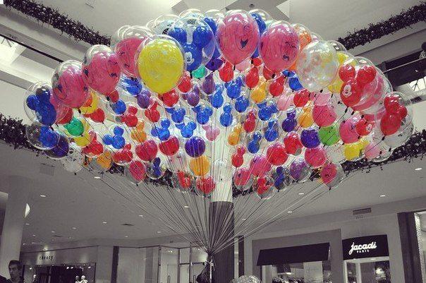 Никакой детский праздник не обходится без воздушных шаров