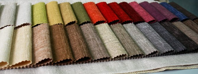 Обивка мебели должна быть сделана из натуральных тканей