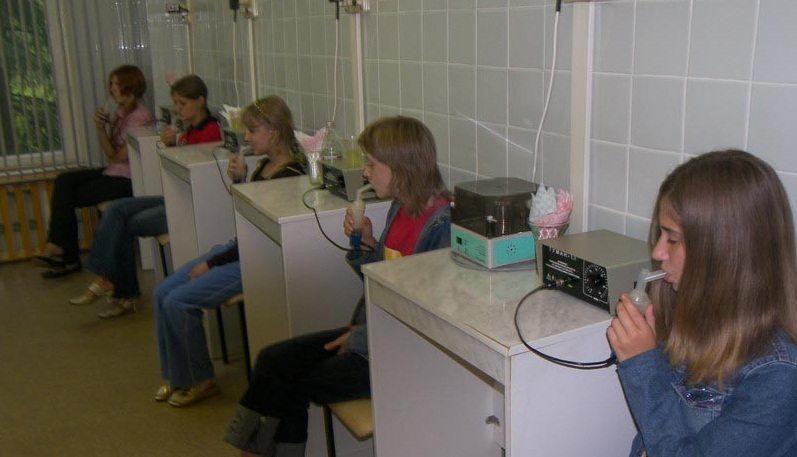 Профилактические процедуры в санаторном лагере