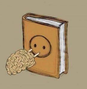 Чтение является хорошей подзарядкой для мозга