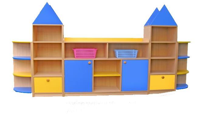 Шкаф для игрушек в детский сад