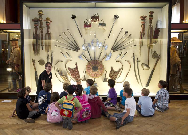 В городских музеях школьники смогут узнать историю своего города