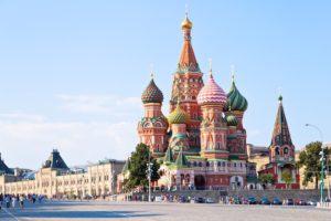Москва является одним из самых популярных городов для экскурсий