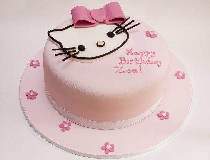 Торт для девочек Hello Kitty
