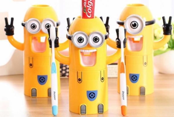 Автоматический дозатор для зубной пасты Миньон