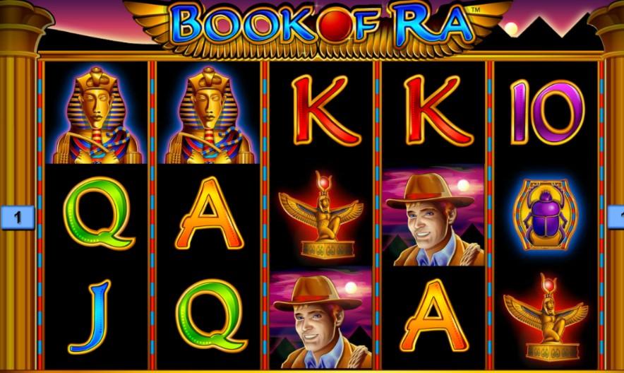 ігровий автомат Книга Ра